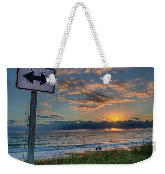 A1a Sunrise Weekender Tote Bag