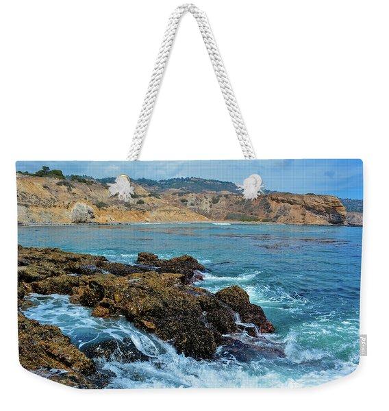 Abalone Cove Shoreline Park Sacred Cove Weekender Tote Bag