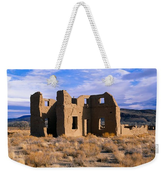 Abandoned Army Post, Circa 1860, Fort Weekender Tote Bag