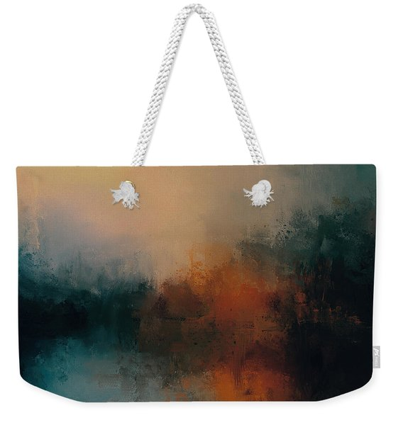 Abandoned At Sea Abstract Painting Weekender Tote Bag