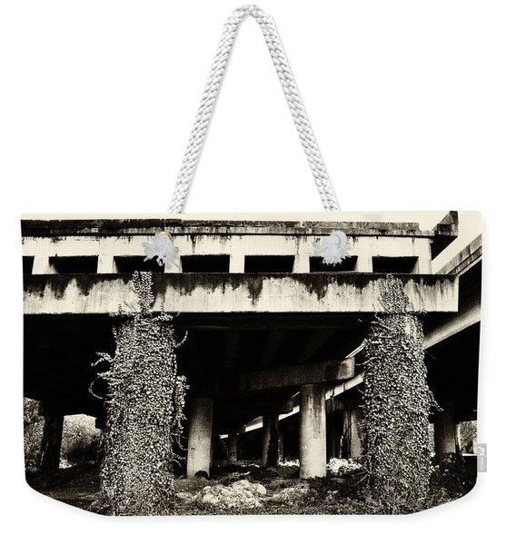 Abandoned Bridge  Weekender Tote Bag