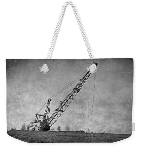 Abandoned Dragline Weekender Tote Bag