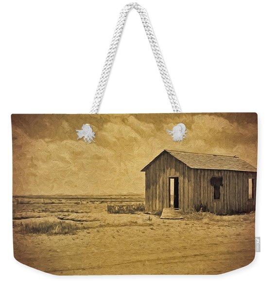 Abandoned Dust Bowl Home Weekender Tote Bag
