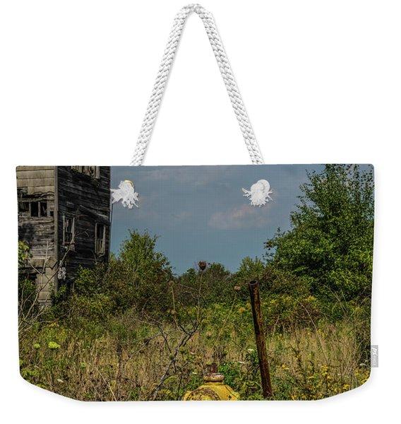 Abandoned Hydrant Weekender Tote Bag