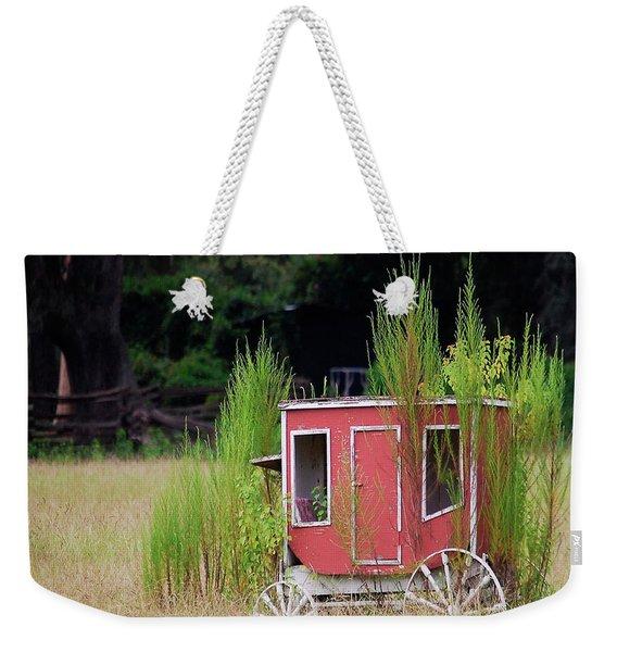 Abandoned In The Field Weekender Tote Bag
