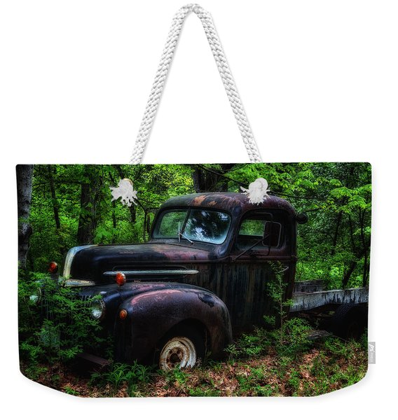 Abandoned - Old Ford Truck Weekender Tote Bag