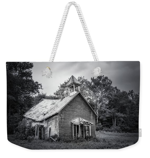 Abandoned Schoolhouse Weekender Tote Bag