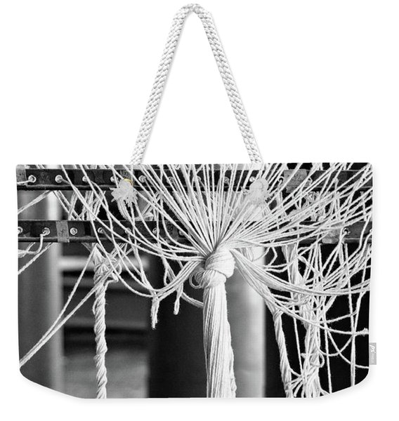 Abandoned Textile Mill, Lewiston, Maine  -48692-bw Weekender Tote Bag