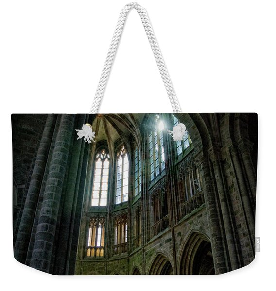 Abbey With Heavenly Light Weekender Tote Bag