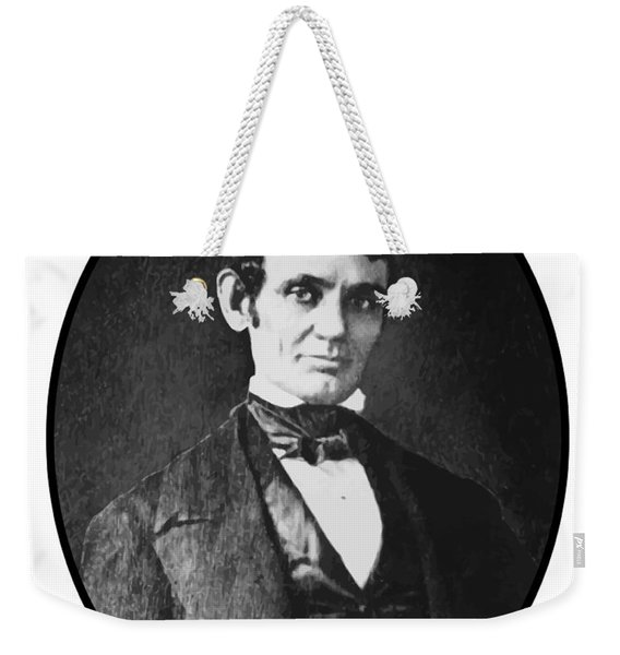 Abe Lincoln As A Young Man  Weekender Tote Bag
