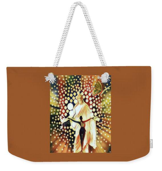 Abide Weekender Tote Bag