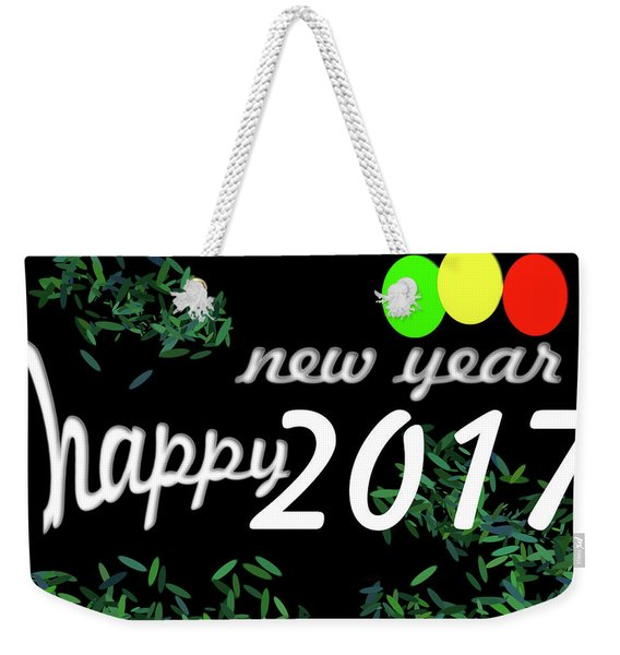 About New Year Weekender Tote Bag