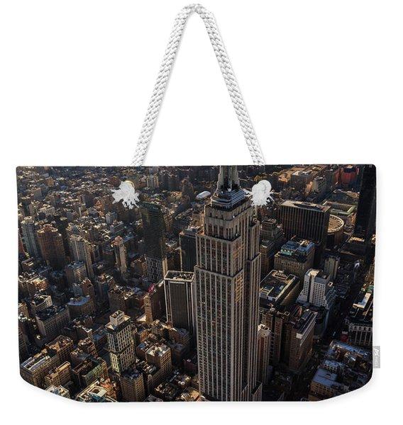 Above It All  Weekender Tote Bag