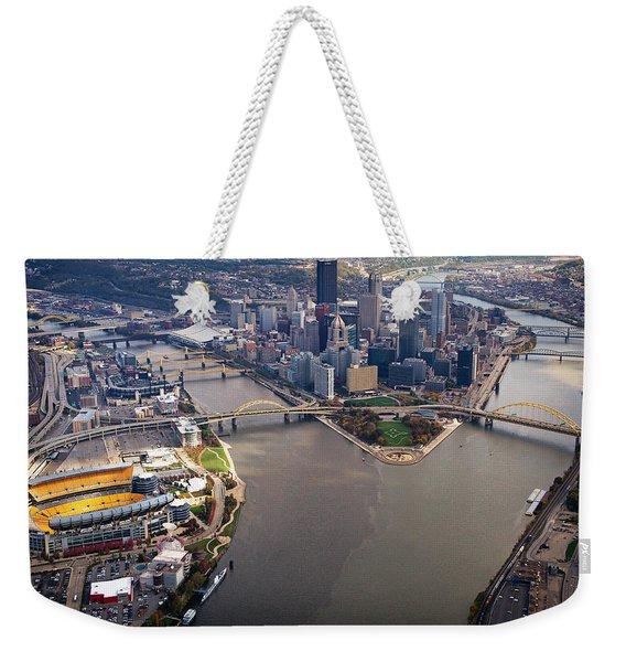 Above Pittsburgh In  Color  Weekender Tote Bag