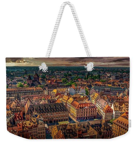 Above Strasbourg Weekender Tote Bag