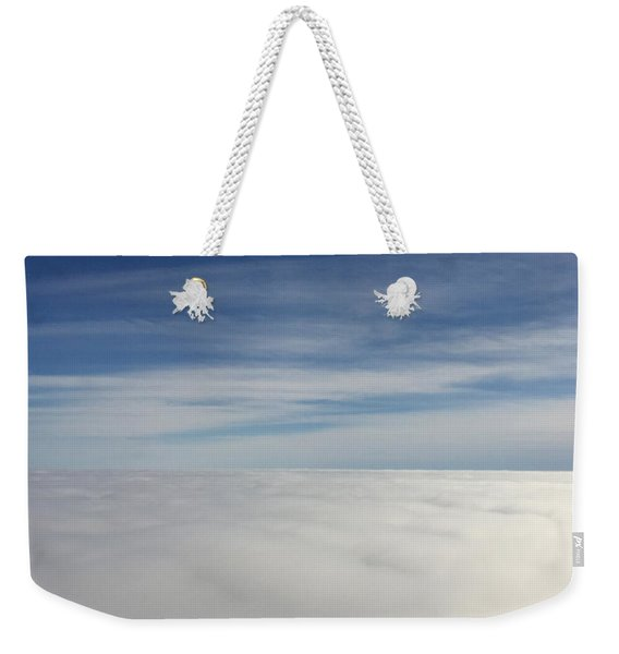 Above The Clouds I Weekender Tote Bag