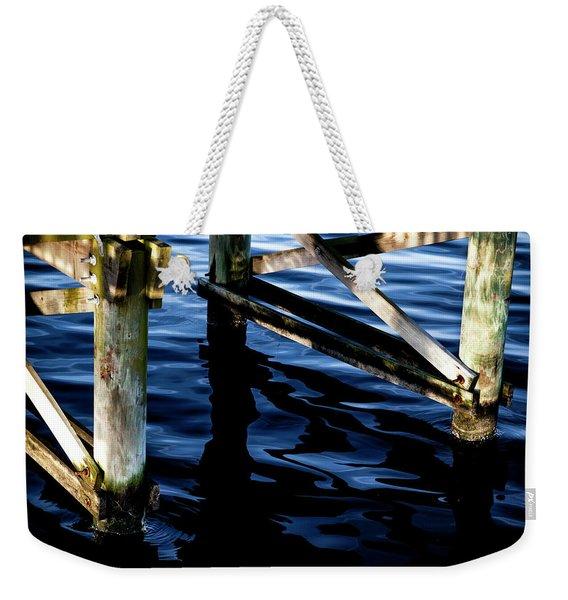 Above Water Weekender Tote Bag