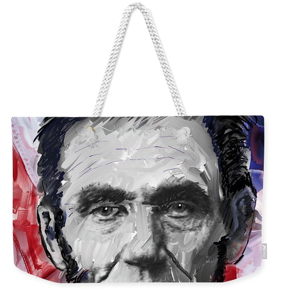 Abraham Lincoln - 16th U S President Weekender Tote Bag