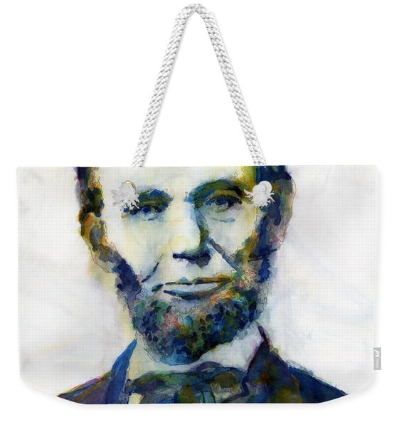 Abraham Lincoln Portrait Study 2 Weekender Tote Bag