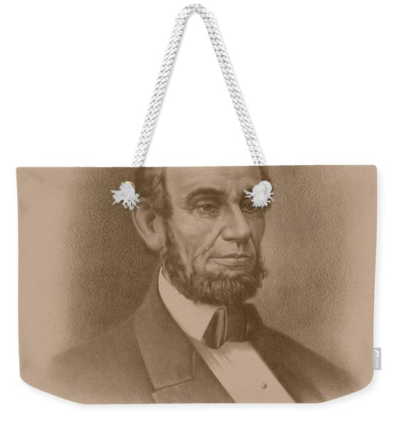 Abraham Lincoln - Savior Of His Country Weekender Tote Bag
