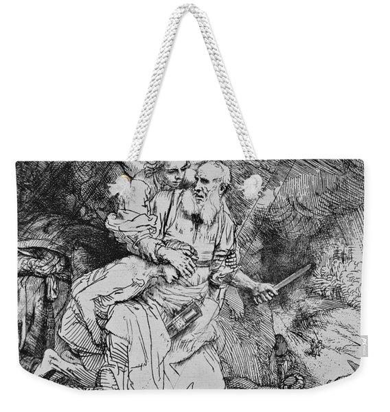 Abraham's Sacrifice Weekender Tote Bag