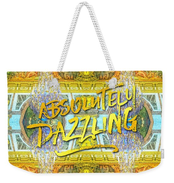 Absolutely Dazzling Hall Of Mirrors Versailles Palace Paris Weekender Tote Bag