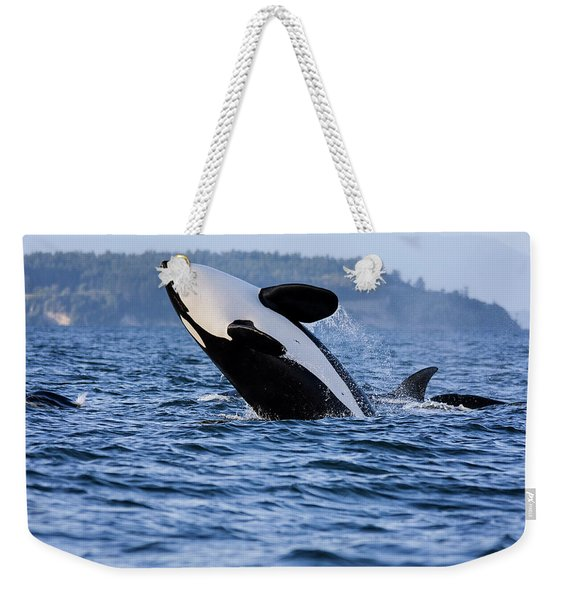 Absolutely Free - Whale Art Weekender Tote Bag
