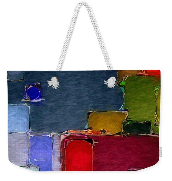 Abstract 005 Weekender Tote Bag