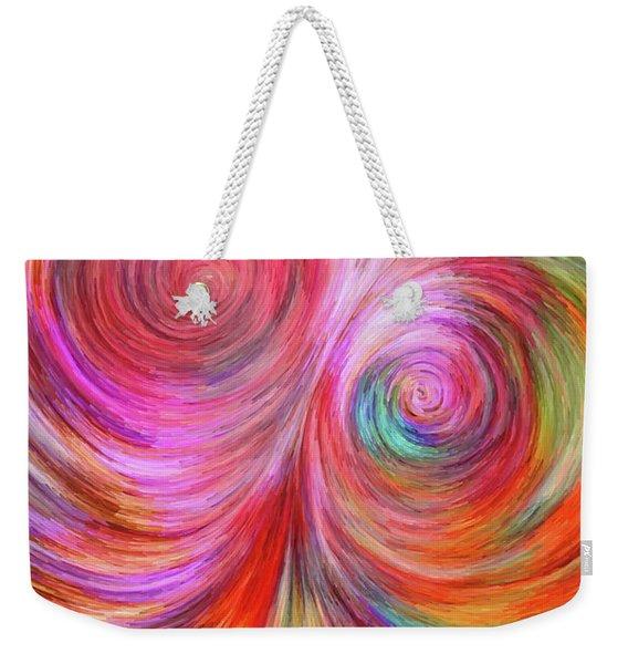 Abstract 072817 Weekender Tote Bag