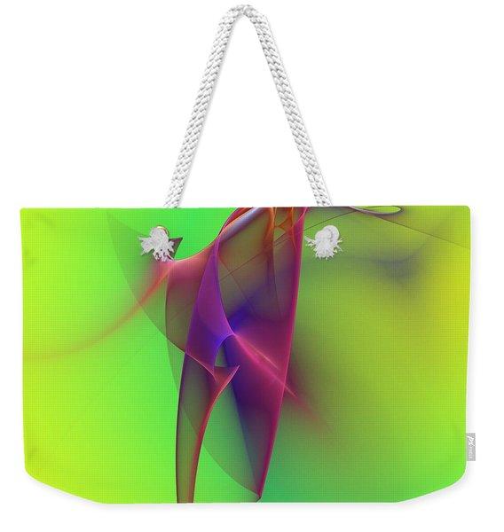 Abstract 091610 Weekender Tote Bag