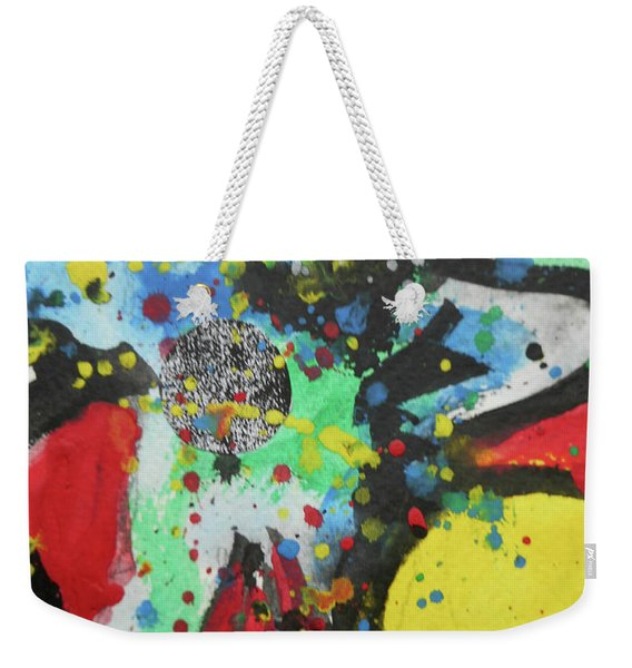 Abstract-1 Weekender Tote Bag