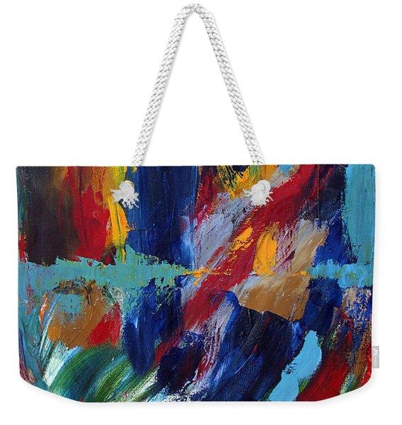 Abstract 1 Weekender Tote Bag