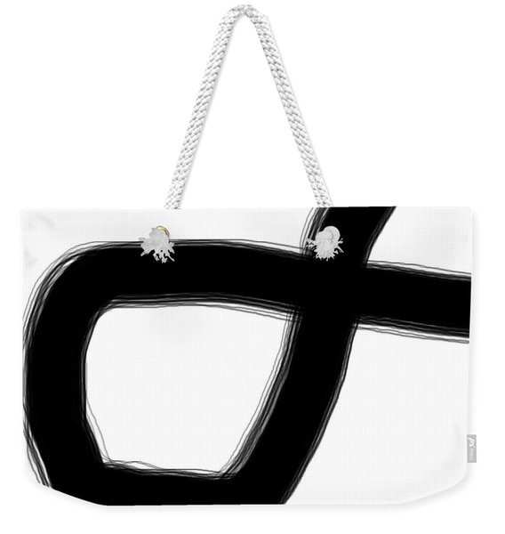 Abstract #1 Weekender Tote Bag