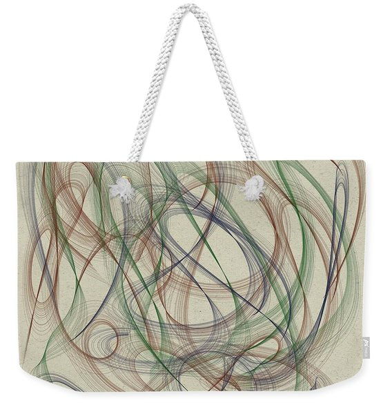 Abstract 2018-1 Weekender Tote Bag