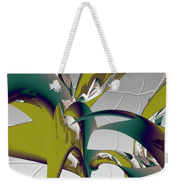 Abstract 2258 Weekender Tote Bag