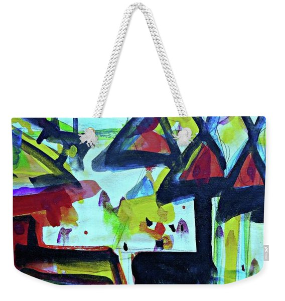 Abstract-27 Weekender Tote Bag