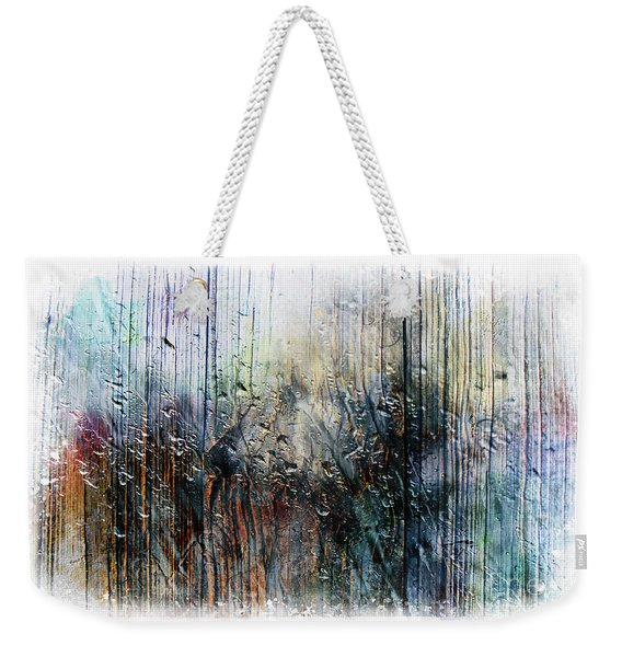2f Abstract Expressionism Digital Painting Weekender Tote Bag