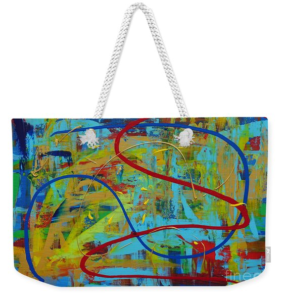 Abstract 2_untitled Weekender Tote Bag