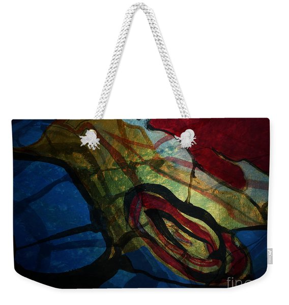Abstract-31 Weekender Tote Bag