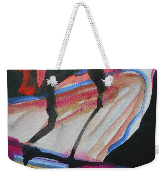 Abstract-5 Weekender Tote Bag