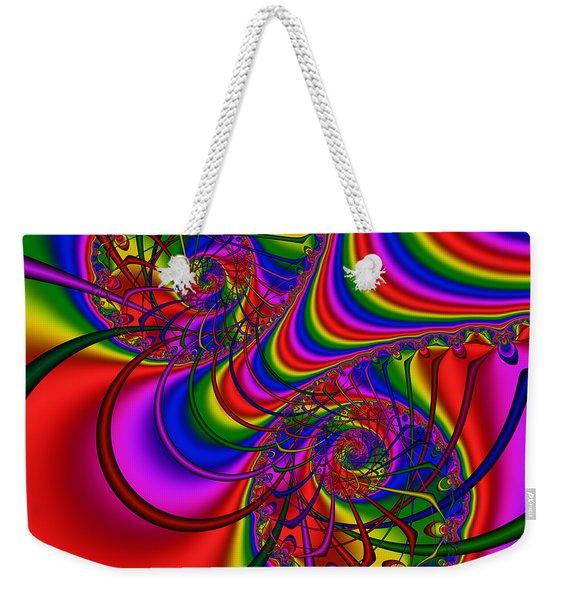 Abstract 511 Weekender Tote Bag