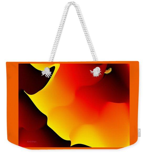 Abstract 515 8 Weekender Tote Bag