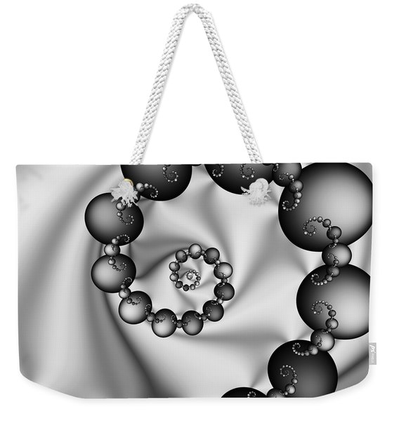 Abstract 537 Bw Weekender Tote Bag