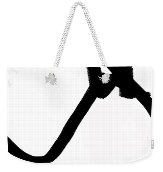 Abstract #6 Weekender Tote Bag