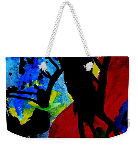 Abstract-7 Weekender Tote Bag