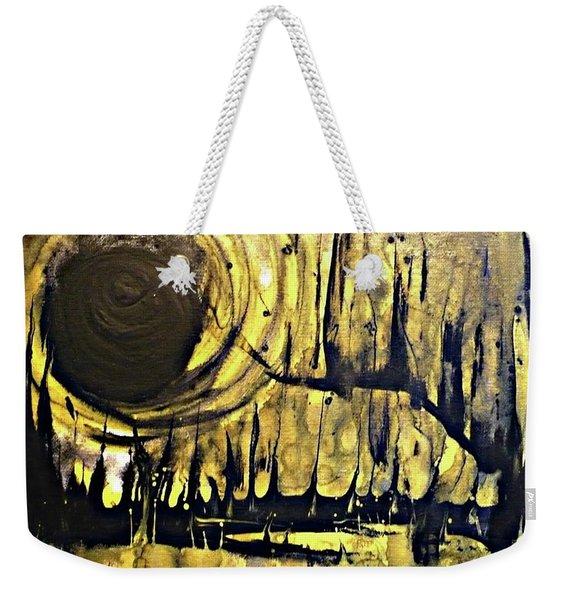 Abstract 8 Weekender Tote Bag