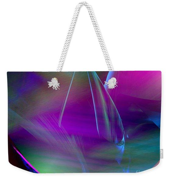 Abstract 845 Weekender Tote Bag