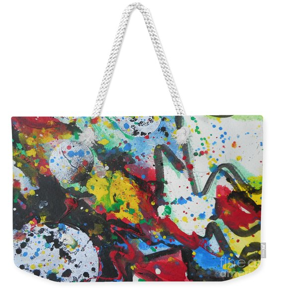 Abstract-9 Weekender Tote Bag