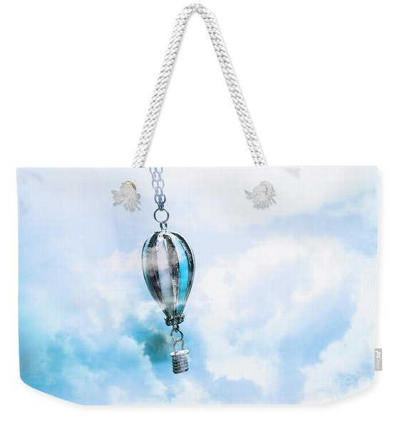 Abstract Air Baloon Hanging On Chain Weekender Tote Bag