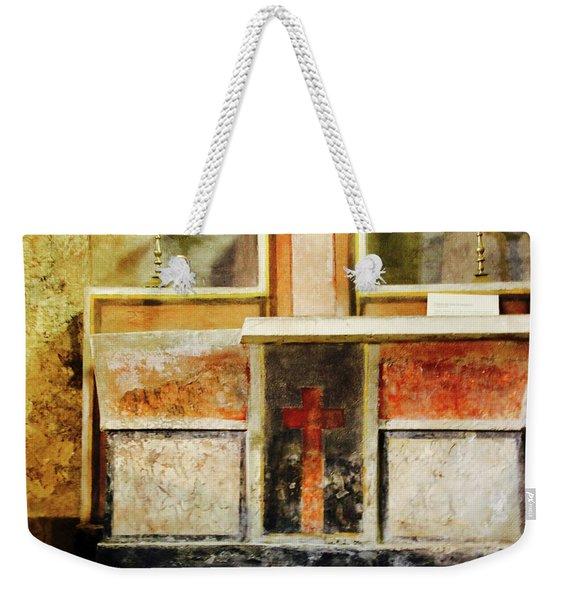 Abstract Altar Weekender Tote Bag
